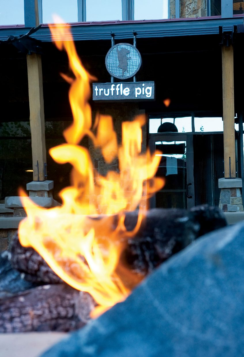 Truffle Pig restaurant is quickly becoming a fixture of fine dining inside One Steamboat Place at the base of Steamboat Ski Area.