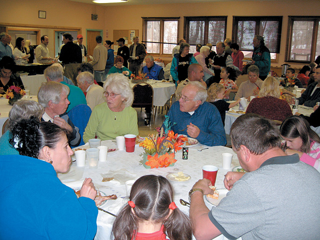 Routt County residents gather at the annual Community Thanksgiving Dinner at the Steamboat Springs Community Center.