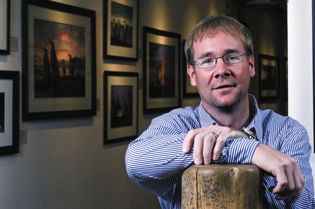 Images of Nature gallery owner Todd Savalox