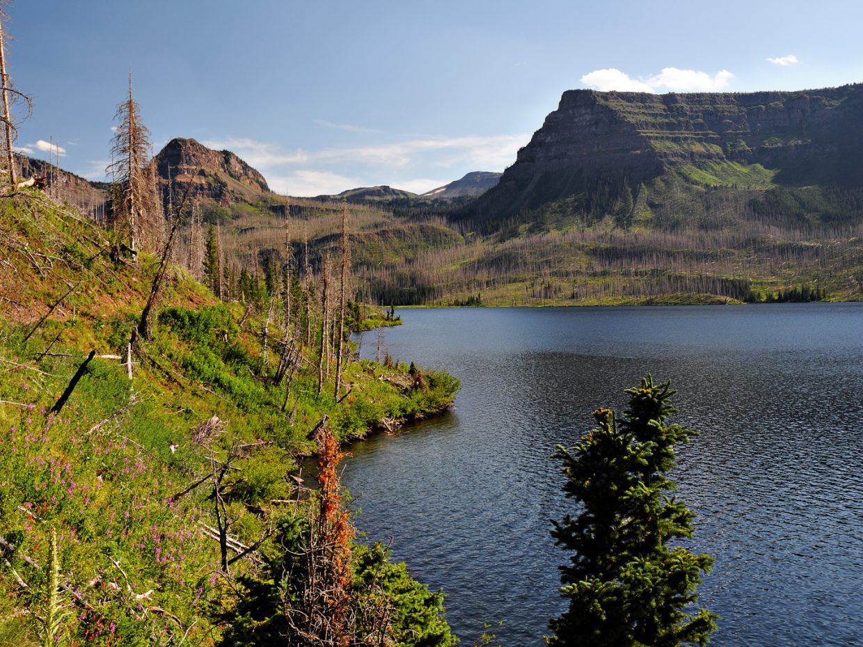 Trappers Lake. Submitted by: Jeff Hall