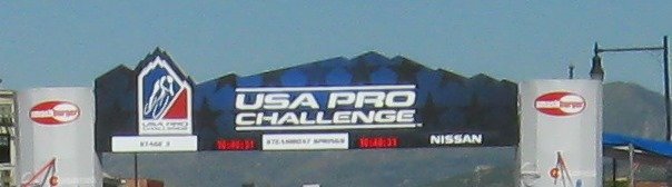 A photo of the USA Pro Challenge finish on Lincoln Avenue in downtown Steamboat Springs. Submitted by Jane Johnson Russell