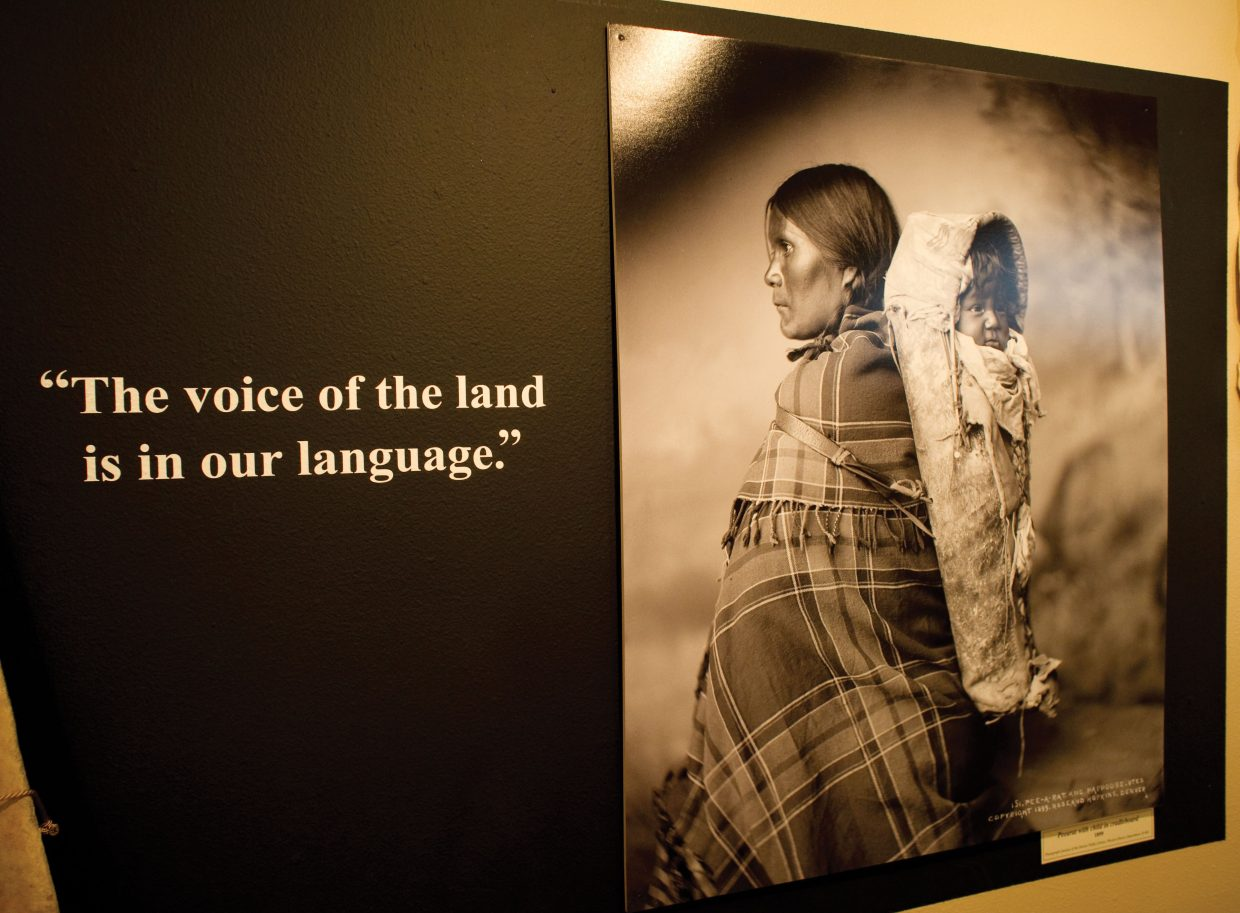 The history, and the impact of the Ute people on the Yampa Valley are showcased in a new exhibit at the Treat of Pioneers Museum.