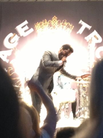 Last free concert: Vintage Trouble. Submitted by: Rosie Santana