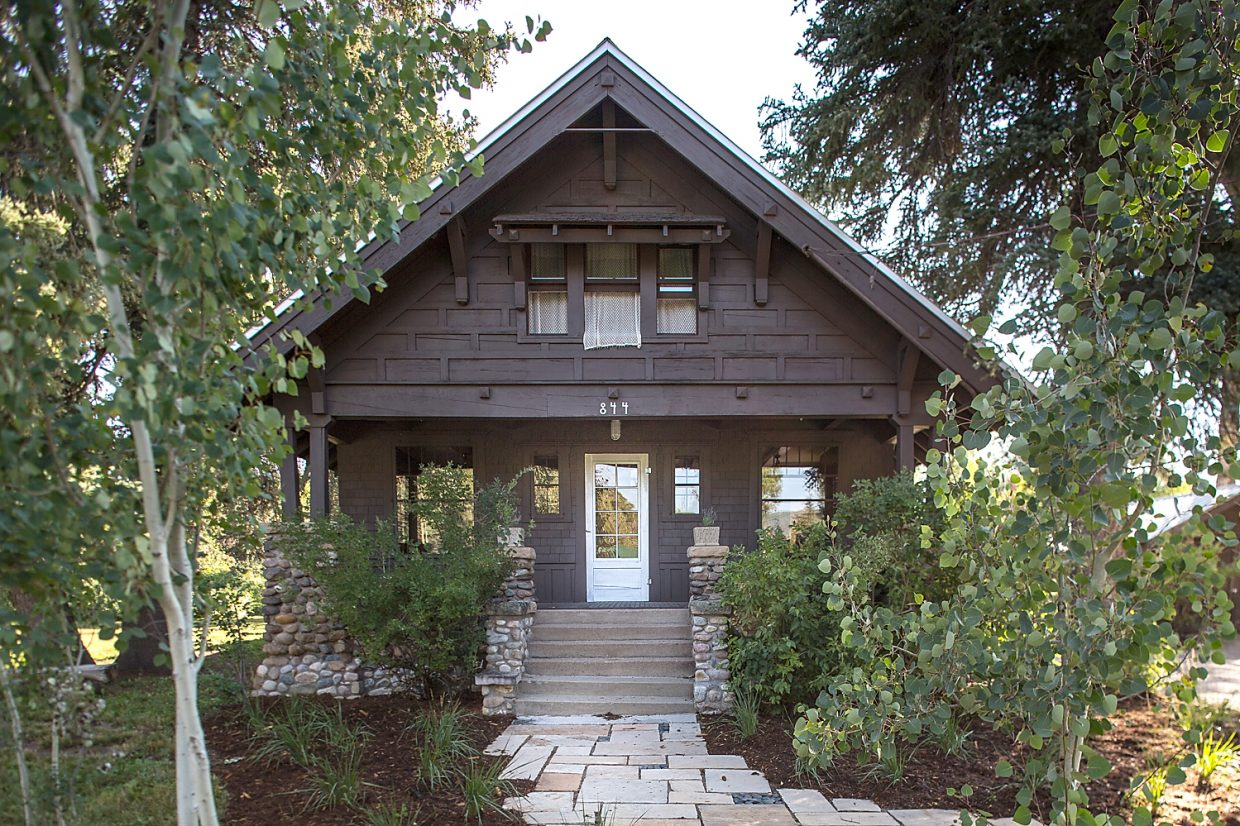 The childhood home of Olympic skiers Skeeter, Loris and Buddy Werner on Aspen Street in Steamboat Springs is back on the market.