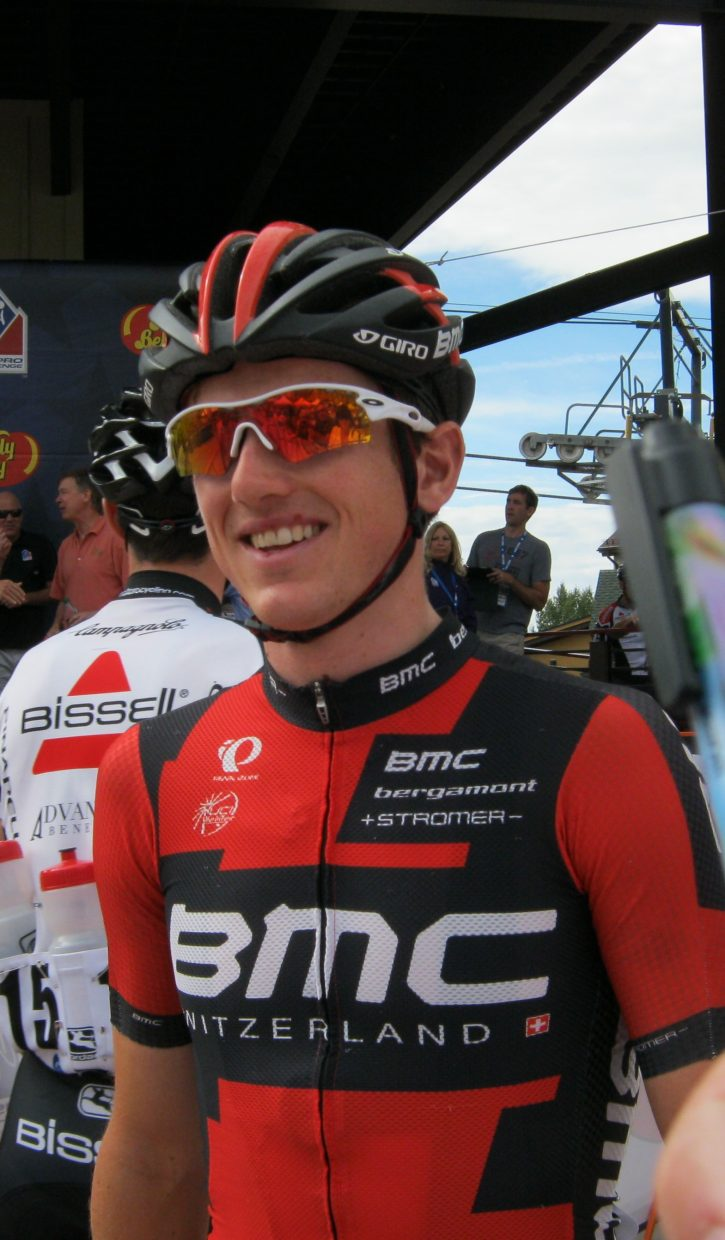 Mathias Frank in Steamboat Springs during the USA Pro Challenge. Submitted by: Janie Johnson-Russell