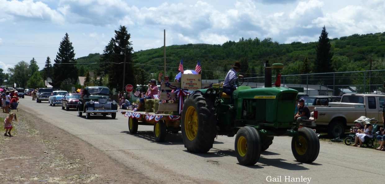 Yampa parade. Submitted by: Gail Hanley.