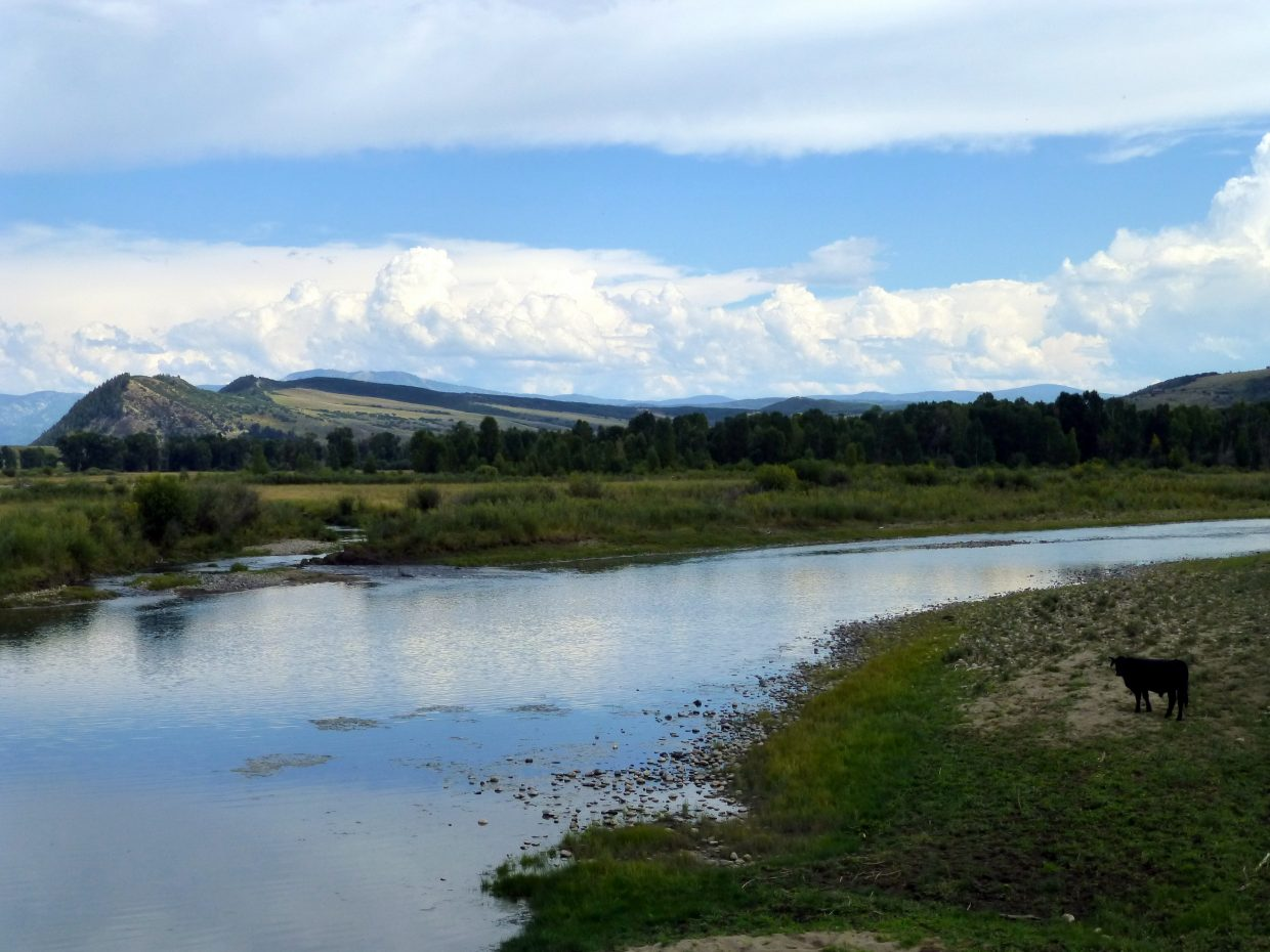 Yampa River at Milner. Submitted by: Gail Hanley
