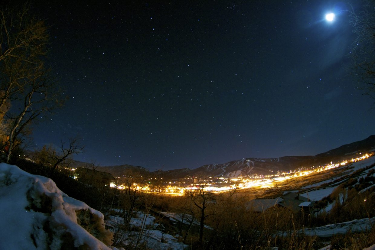 Steamboat under the stars. Submitted by: Alex Sullivan