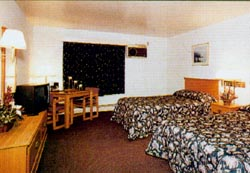 A room at the Alpiner Lodge.