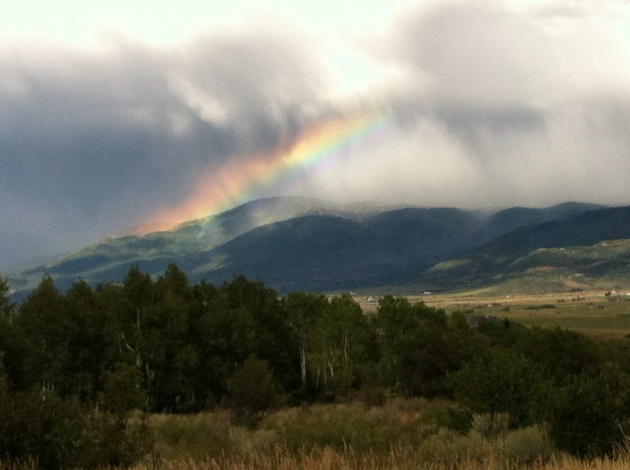Gold on Mount Werner. Submitted by: Ann Noyes
