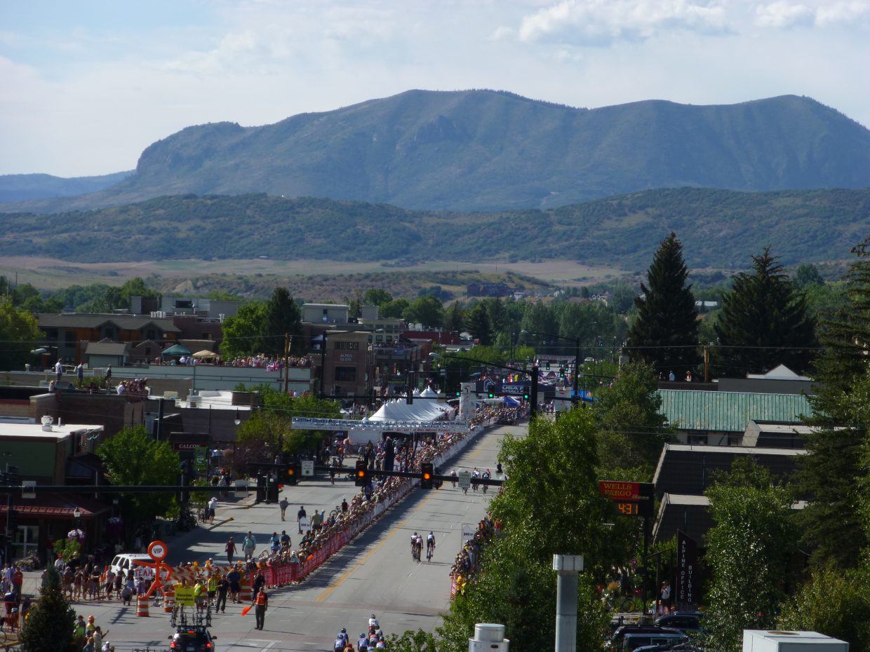 USA Pro Challenge on Wednesday. Submitted by: Ty Upson