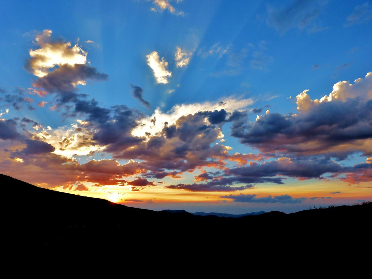 Sunset shot from the West Condos looking toward Sleeping Giant. Shot in early July. Submitted by: Matt Helm