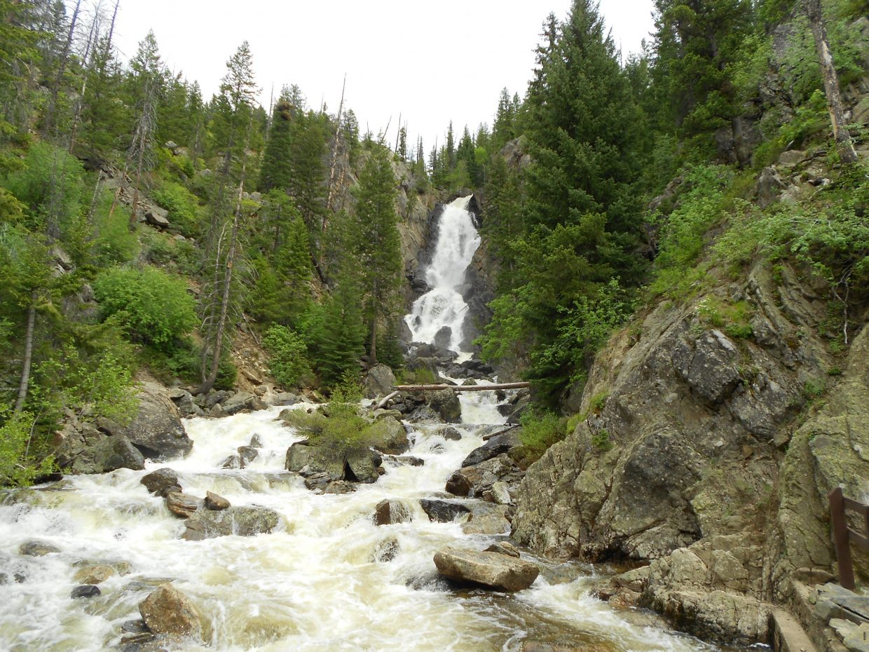 Fish Creek Falls on June 2. Submitted by: Maryedith Davies