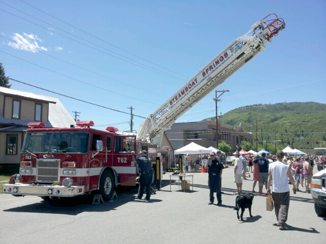 The farmers market and ReTree Steamboat on Saturday. Submitted by: Matthew Grasse