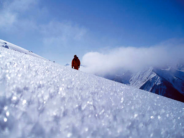 Mike Decoske in Kicking Horse. This location will be featured in a film during the fourth annual Steamboat Mountain Film Festival this weekend.
