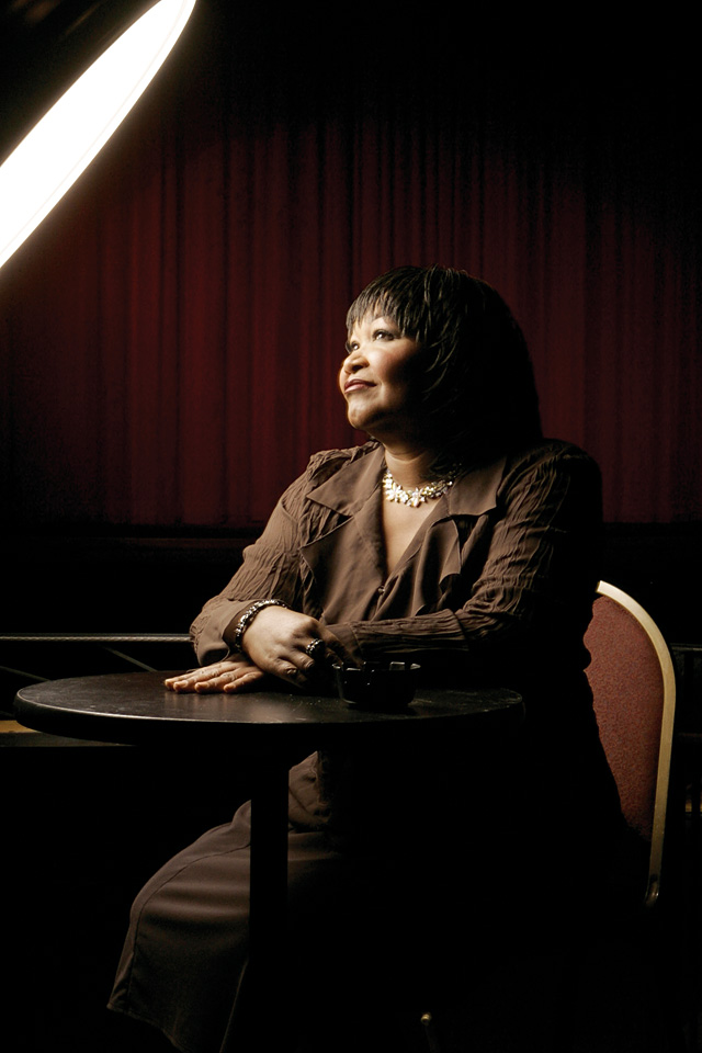 Blues singer Hazel Miller is often referred to as a modern-day Aretha Franklin. She will be performing at Come, Let's Dance's fundraiser Saturday night.