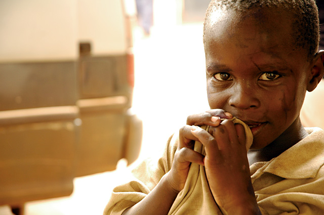 One the children that live on the streets of Kampala, Uganda. Come, Let's Dance's fundraiser will raise money to help the orphan crisis in Uganda.