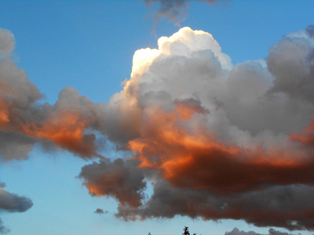 Hayden sunset clouds. Submitted by: Camilla Wall