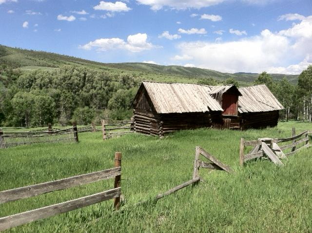 I wish these old walls could talk. Taken somewhere in North Routt. Submitted by Curt Merchant