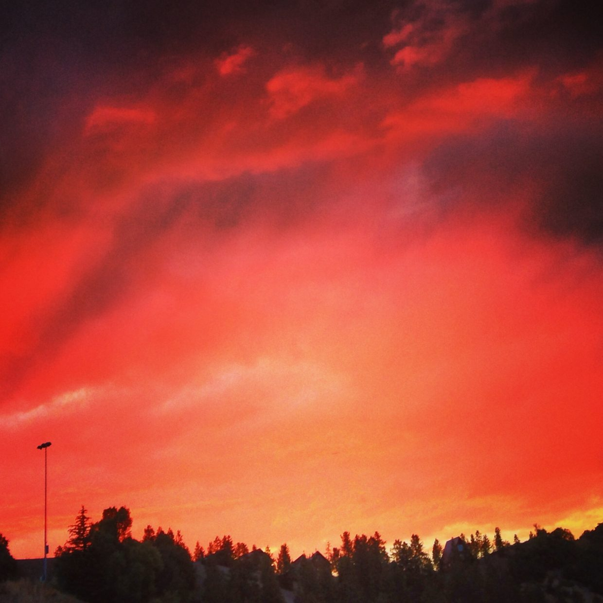 Red at night, Sailors delight. Submitted by: Michelle Mackey