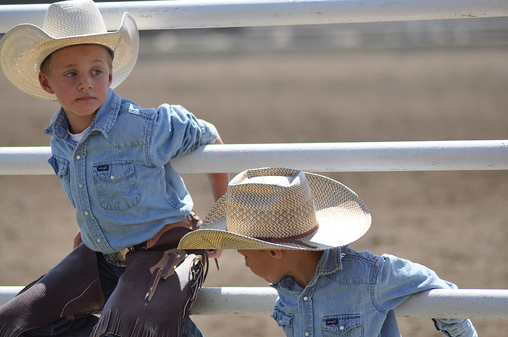 Hanging out at the 2012 Routt County Rodeo. Submitted by: Wendy Lind