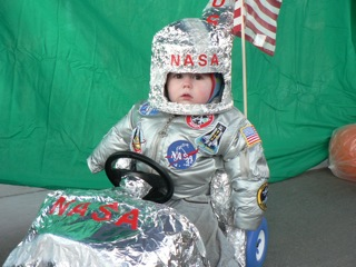 Andrew Weinman, 1, is the winner of the Steamboat Springs High School Drama Club Costume Contest. Submitted by: Cara Becker