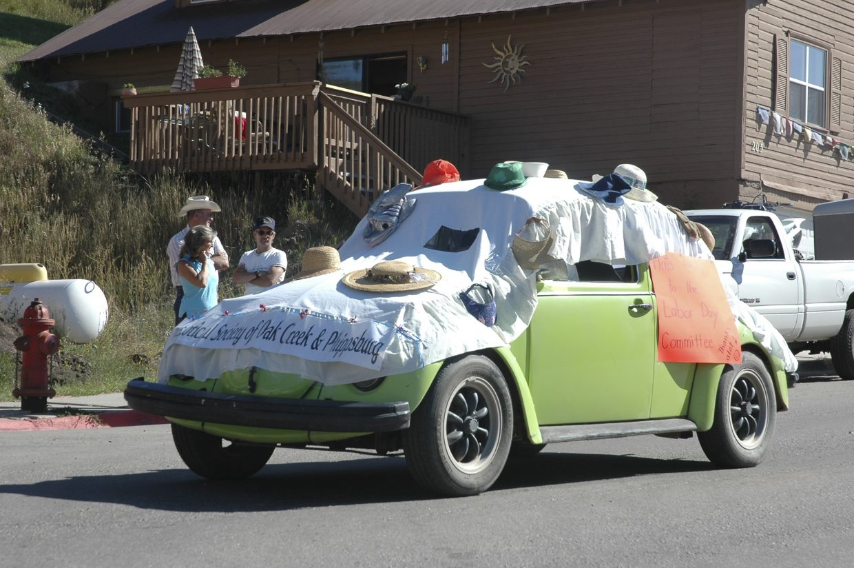 Hundreds of people lined Main Street in Oak Creek to watch the Labor Day parade Monday.