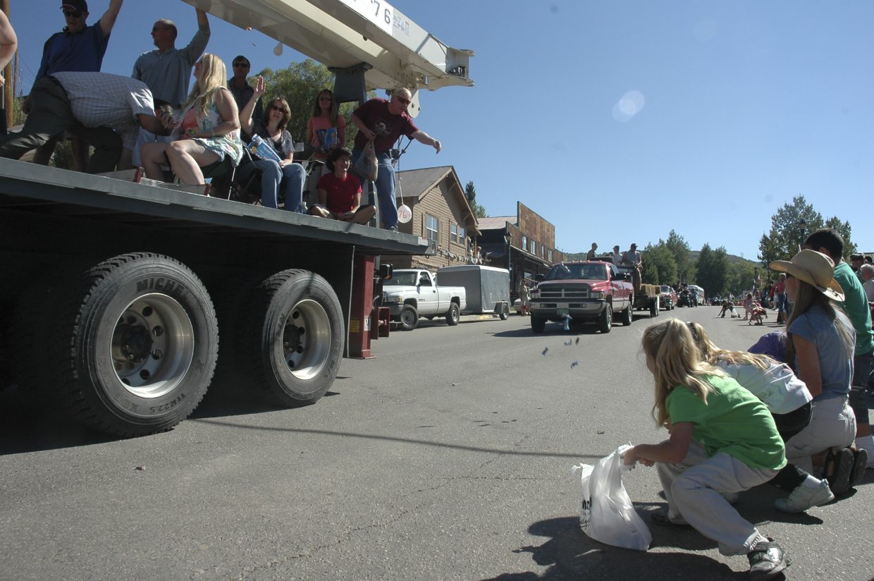 Hundreds of spectators lined Main Street to watch Oak Creek's Labor Day parade Monday.