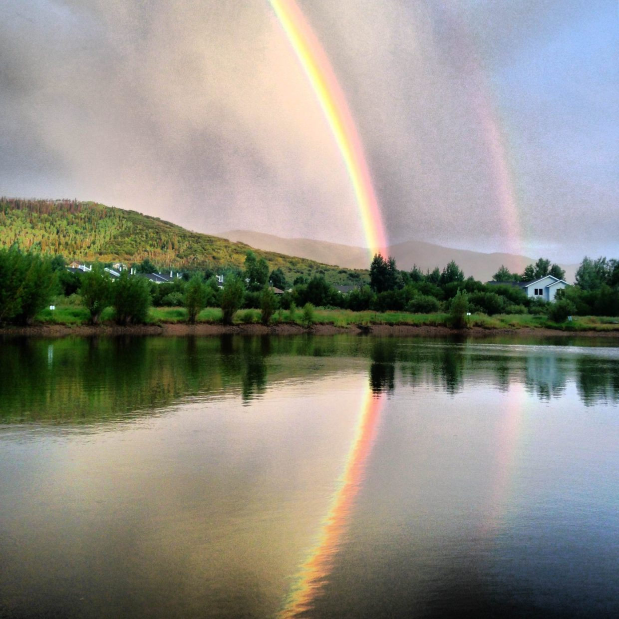 Rainbow on Aug. 13. Submitted by: Ryan Lohan