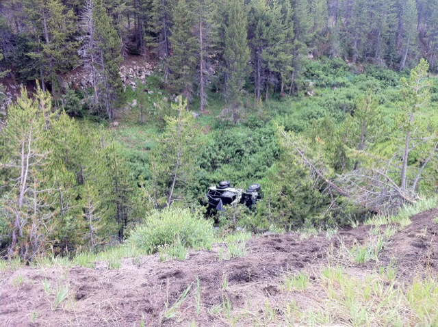 The Routt County Sheriff's Office confirmed that one person was killed Saturday afternoon when the Jeep she was driving down U.S. Highway 40 on Rabbit Ears Pass rolled off an embankment. The passenger of the car, a male in his 40s, was in good condition and climbed up the 100 feet to the road, according to Steamboat Springs Fire Rescue Capt. Travis Wilkinson. Colorado State Patrol will be investigating the crash.