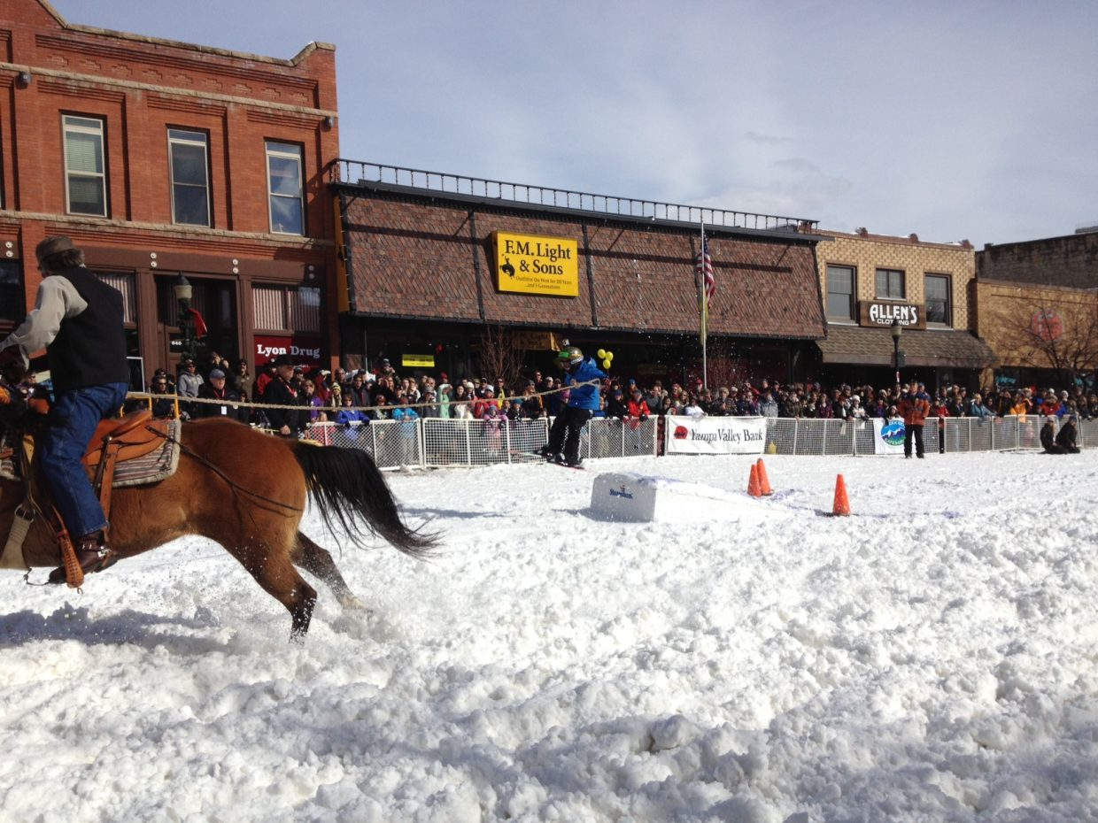 Winter Carnival street events. Submitted by: Kellie Hisey