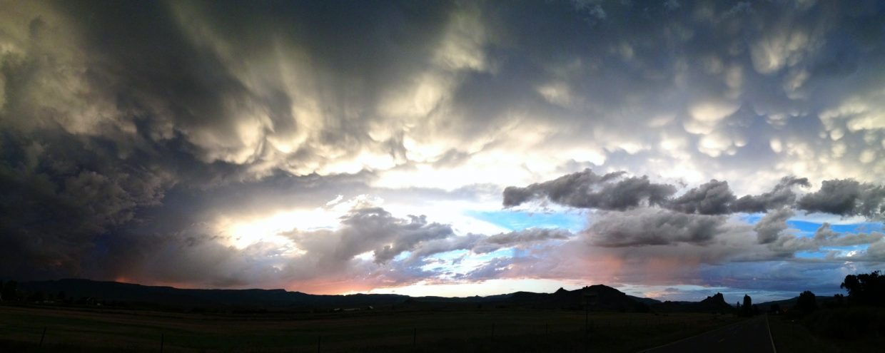 South Routt sunset. Submitted by: Tyler Goodman