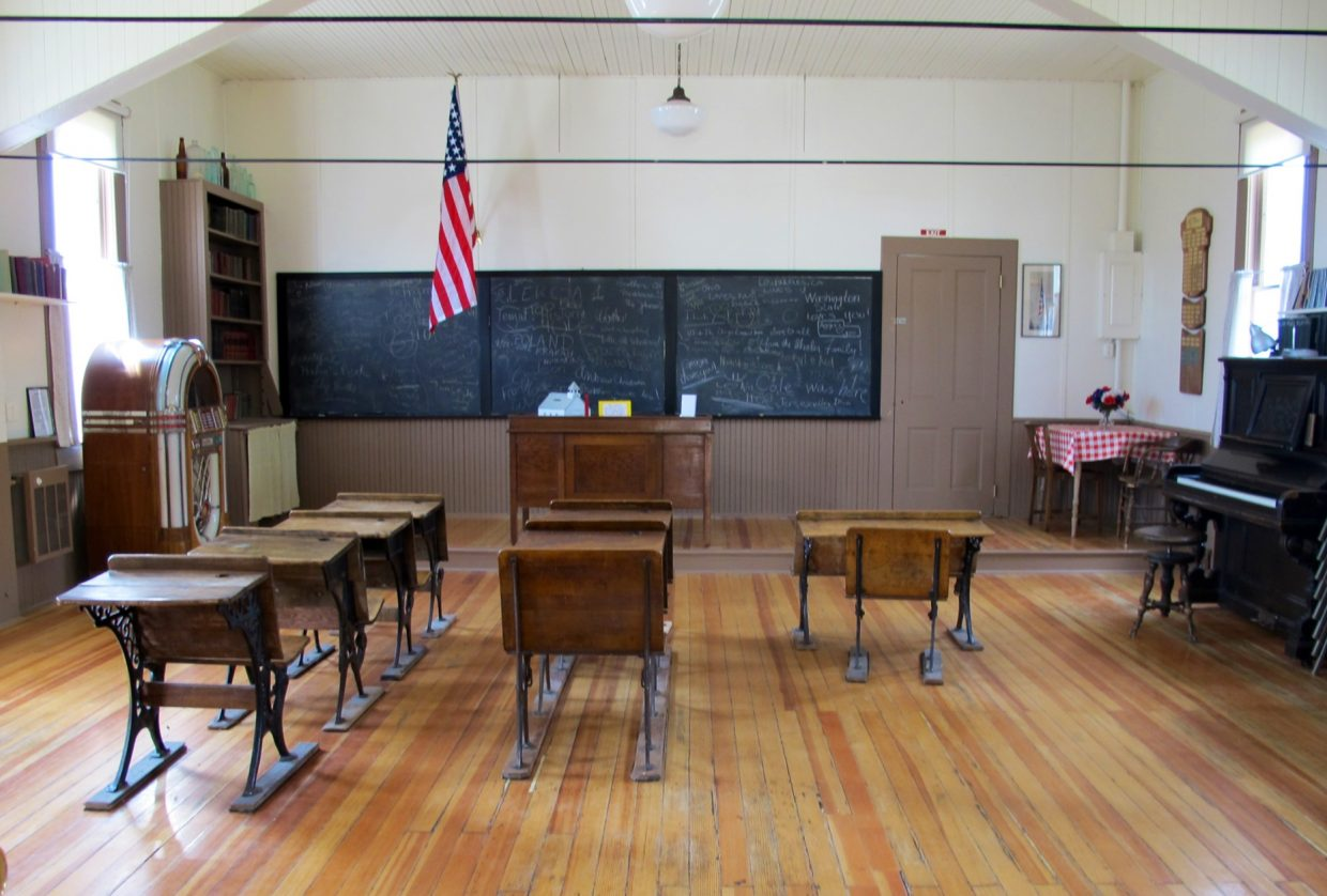 One-room schoolhouse at Hahn's Peak. Submitted by: Jan Fisher of Colleyville, Texas