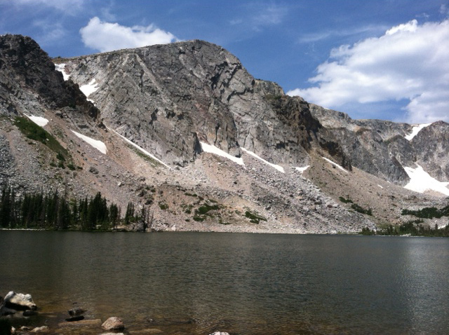 Lake Marie in the Snowy Range. Submitted by: Curt Merchant