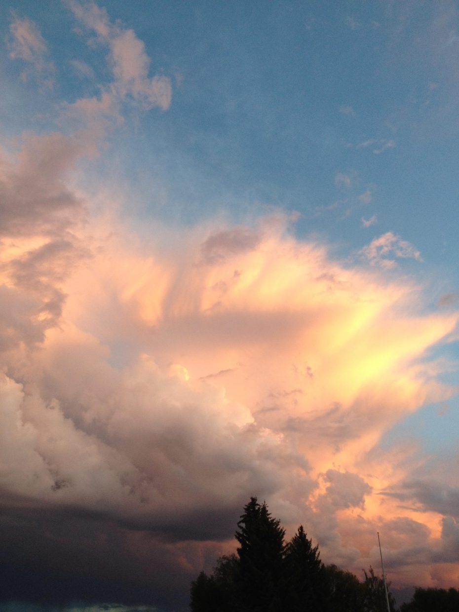 Hayden storm clouds. Submitted by: Julie Smith