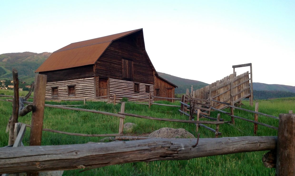 The famous barn. Submitted by: Richard A. Curtis