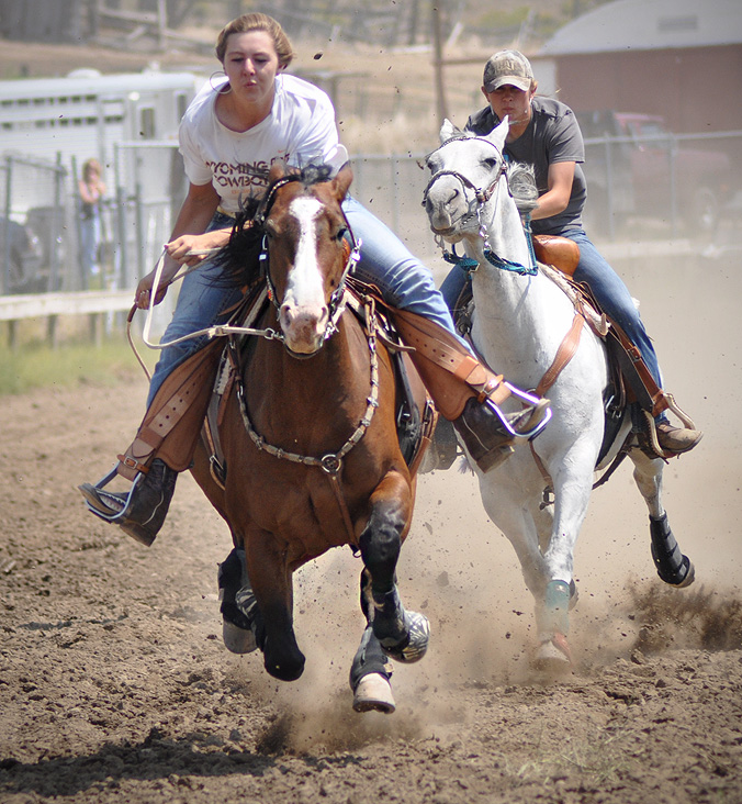 Match Race at the at the 2012 Routt County Fair in Hayden. Submitted by: Wendy Lind