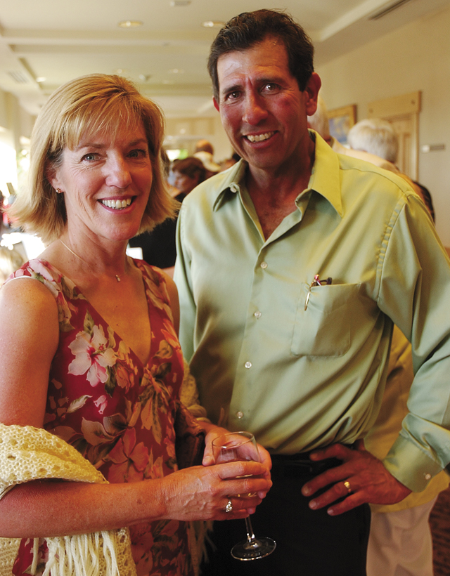 Steamboat Springs residents Kathy and Richard Arc at the Carpenter's Ball.