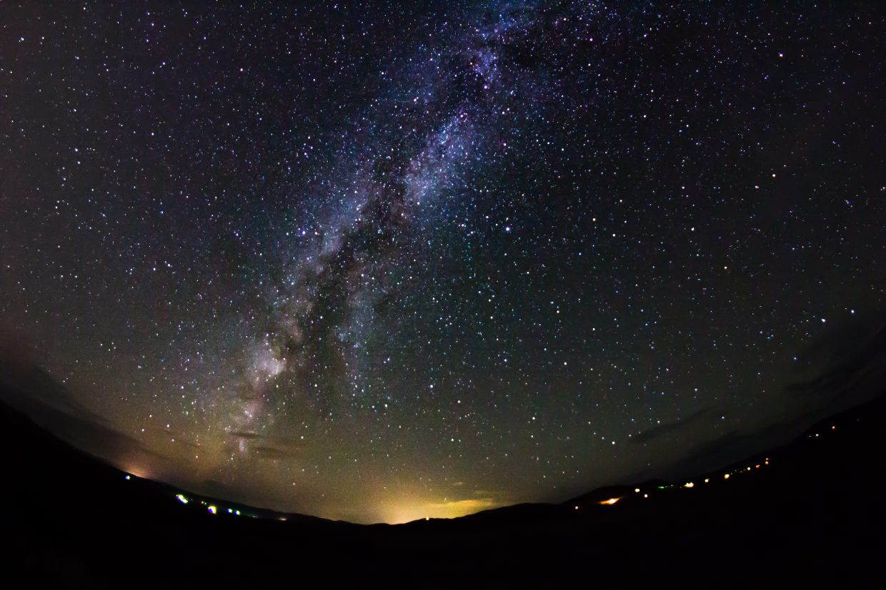 Shot of the Milky Way from Elk River Road. Submitted by: Michael Burns