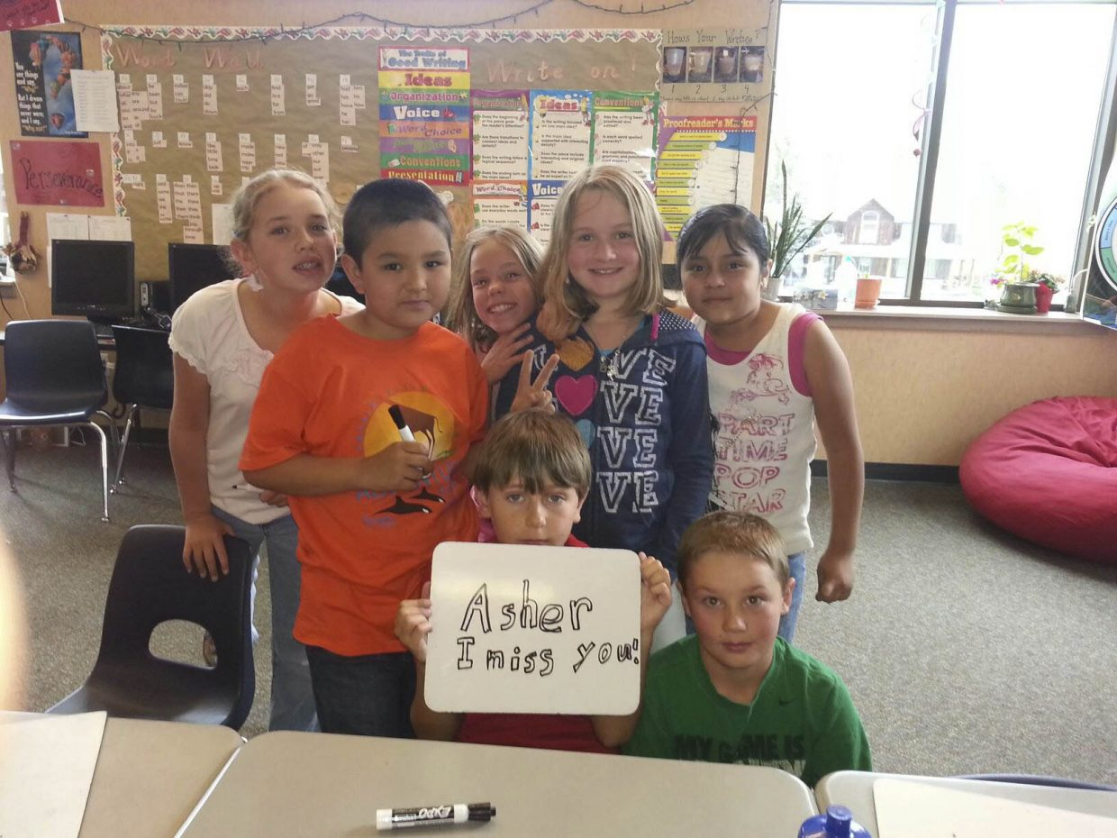 Soda Creek Elementary School students. Submitted by: Kristin Bantle