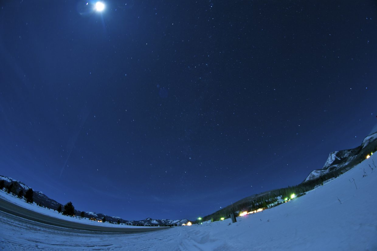 North Routt under the stars and moon Submitted by: Alex Sullivan