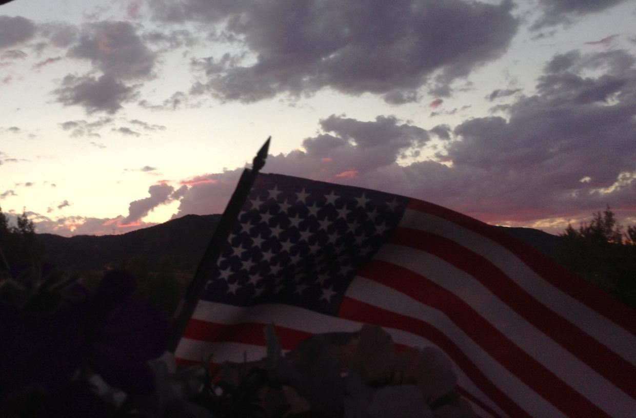 Sunset on Emerald Mountain. Submitted by: Stephanie Keeler