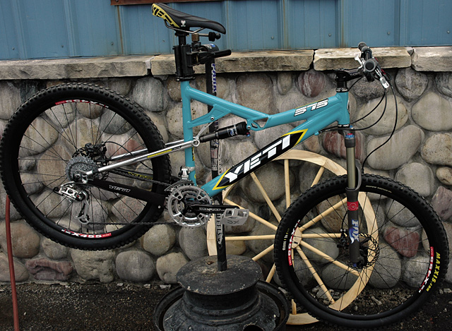 The race-inspired 575 is Yeti's 2007 hope for creating the ultimate trail bike, available at Wheels Bike Shop.
