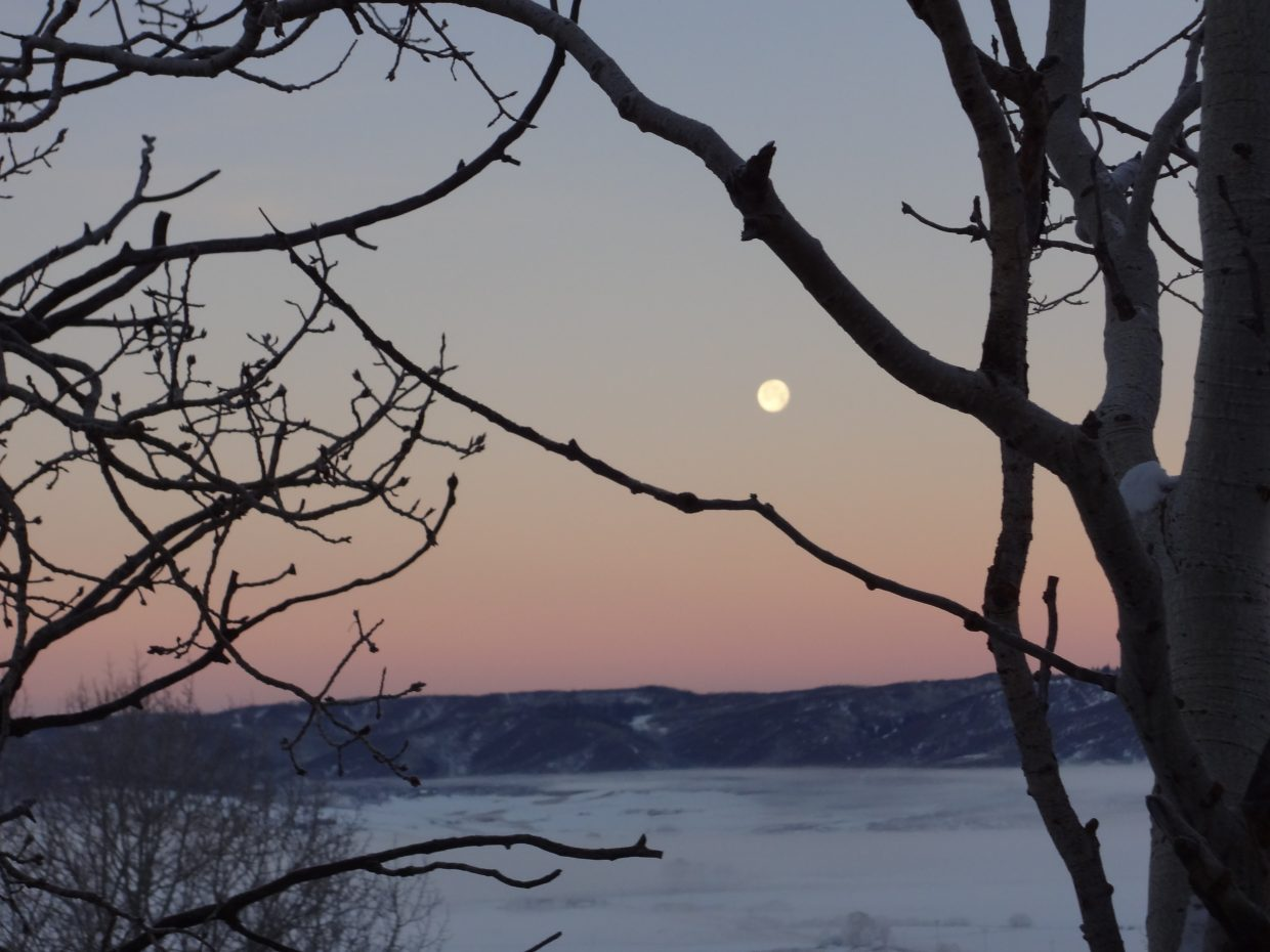 Moon over paradise. Submitted photo