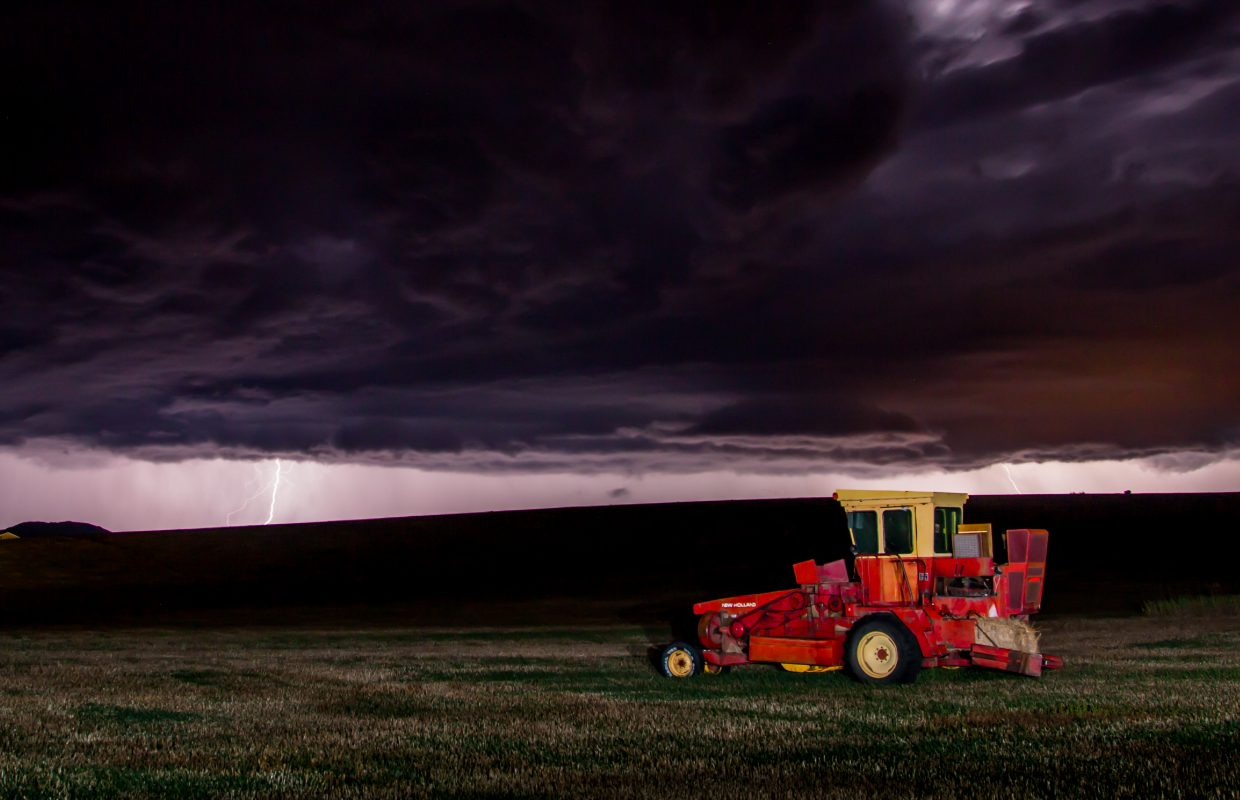 Yampa Valley thunderstorm. Submitted by: Michael Burns