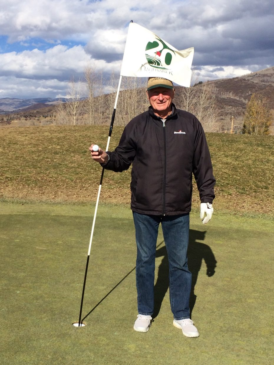Barry Crossan Hole In One.
