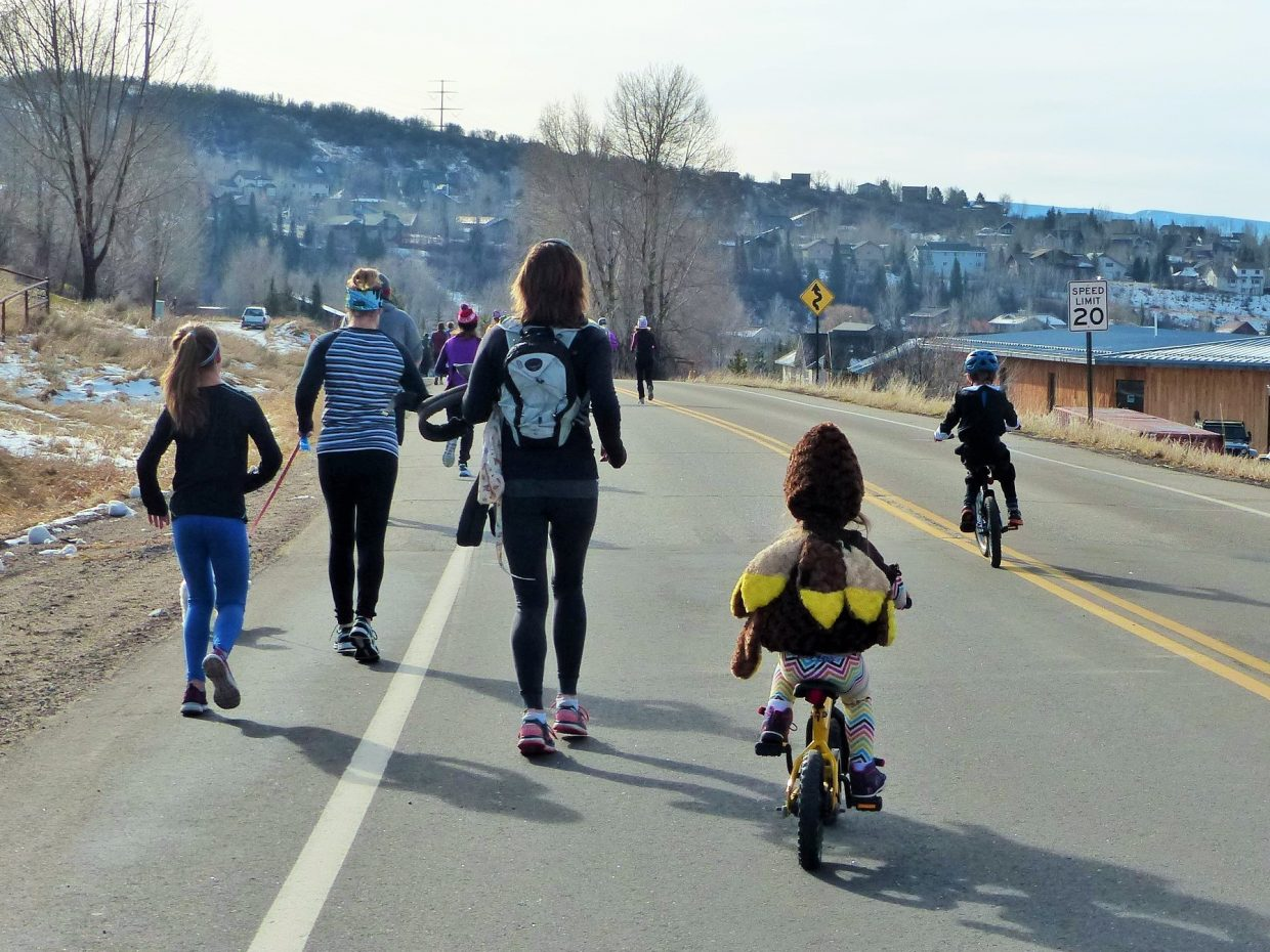 Happy Thanksgiving! Steamboat Springs Turkey Trot.