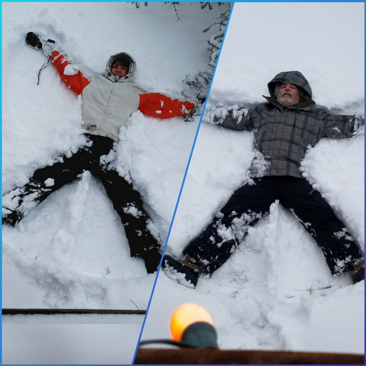 Steamboat snow angels.
