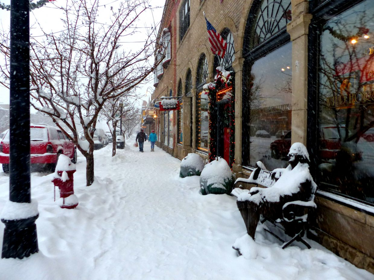 Snowy Downtown Steamboat-010