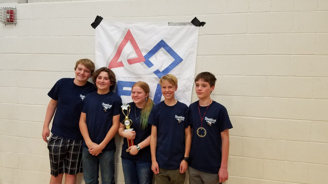 Steamboat Robotics Team Headed To State Steamboattoday Com